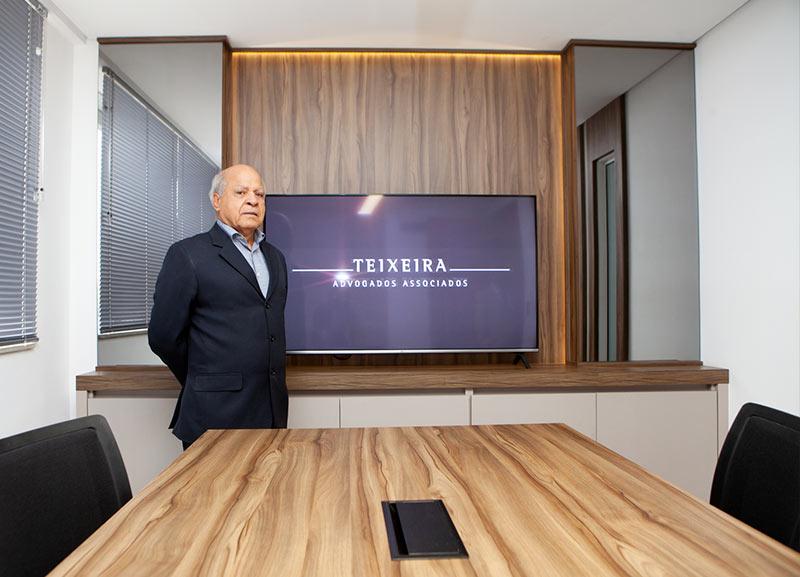 Sala de reuniões do escritório